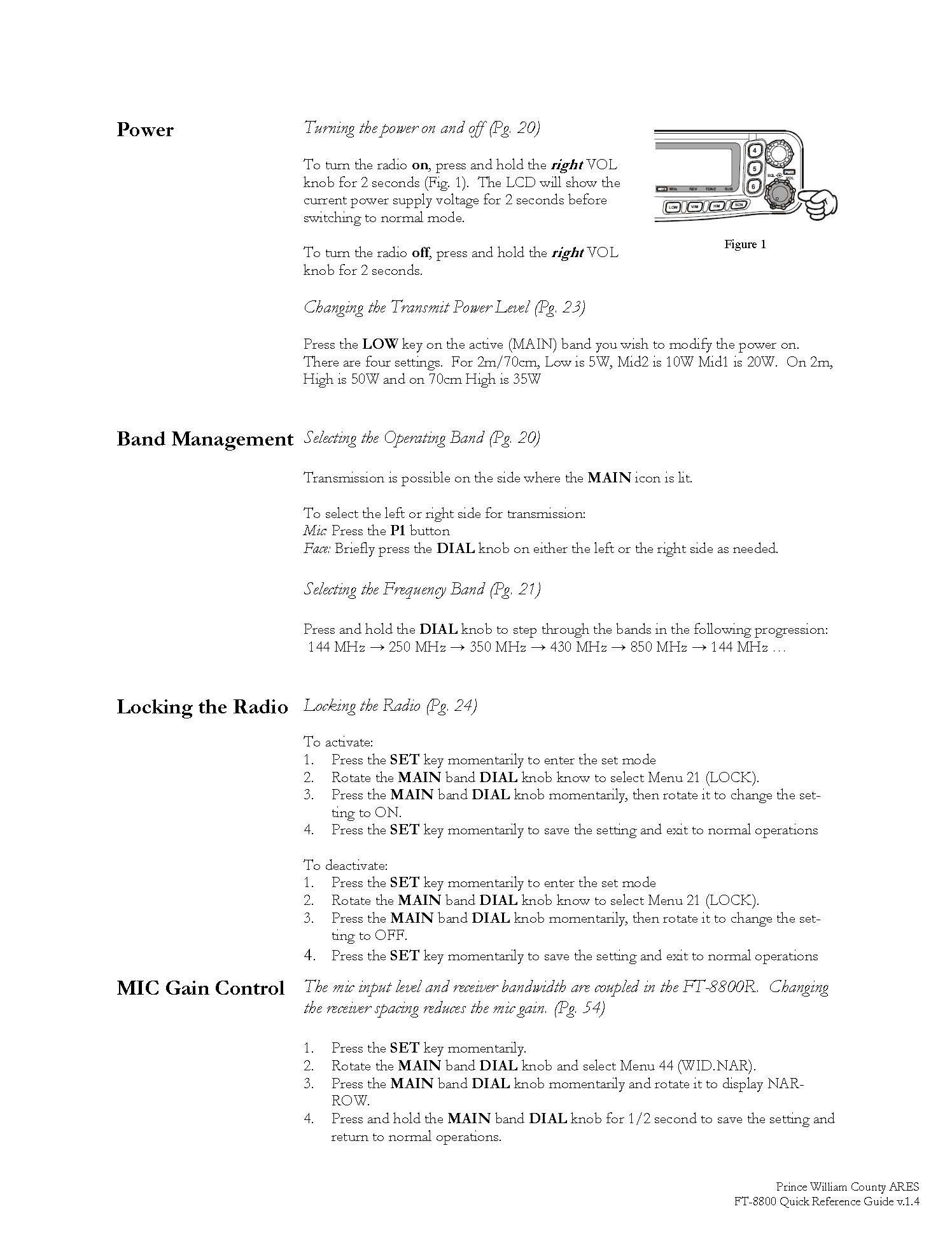 FT-8800 QRC Page 3
