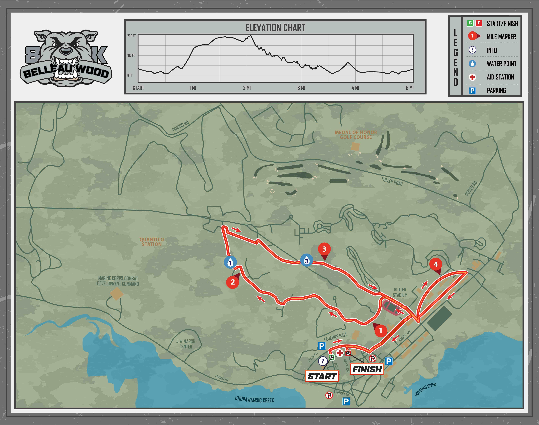 Belleau Wood 8K Map