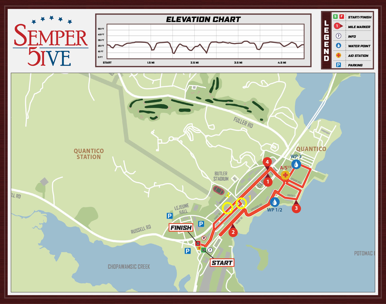 Semper 5ive Map