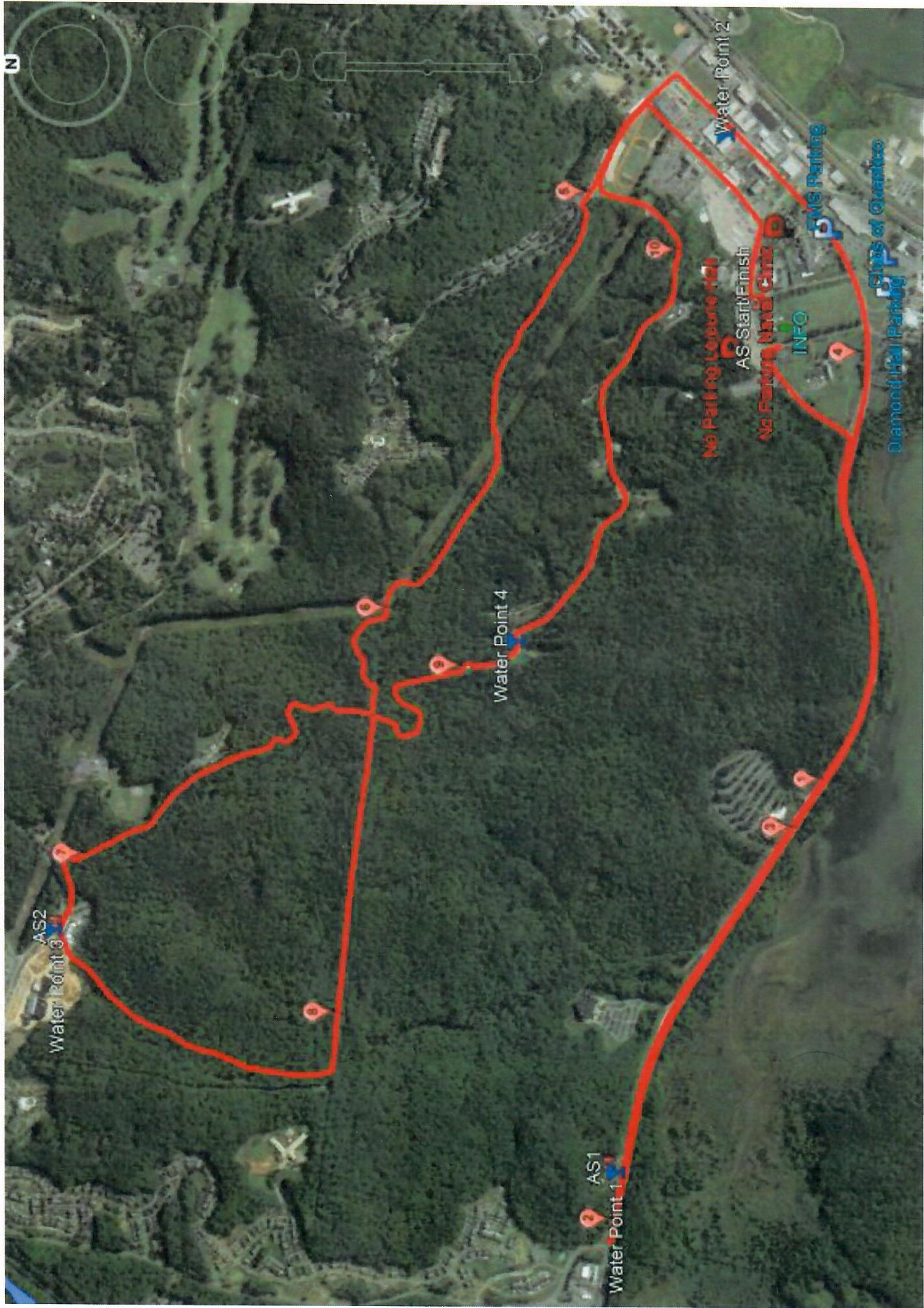 Crossroad Map